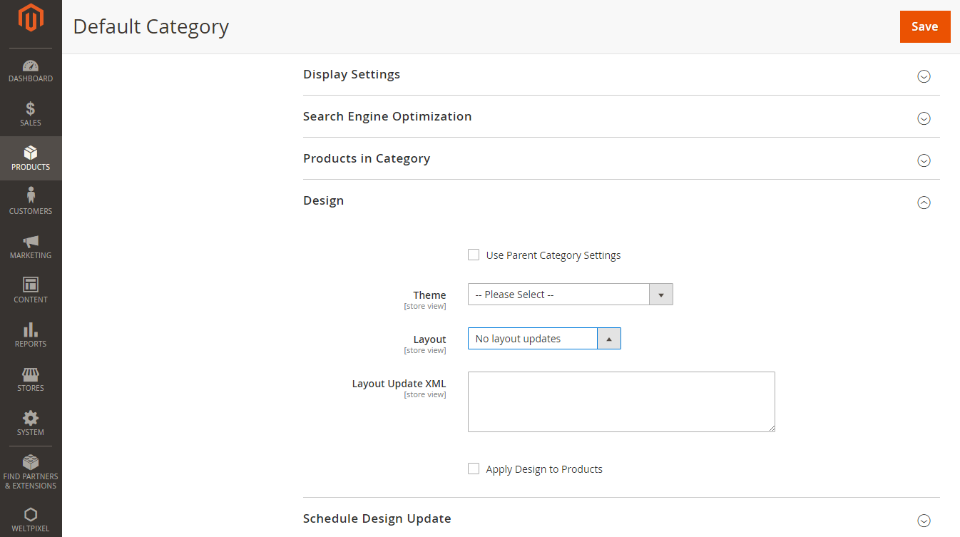 How To Change Category Layout In Magento 2 Weltpixel