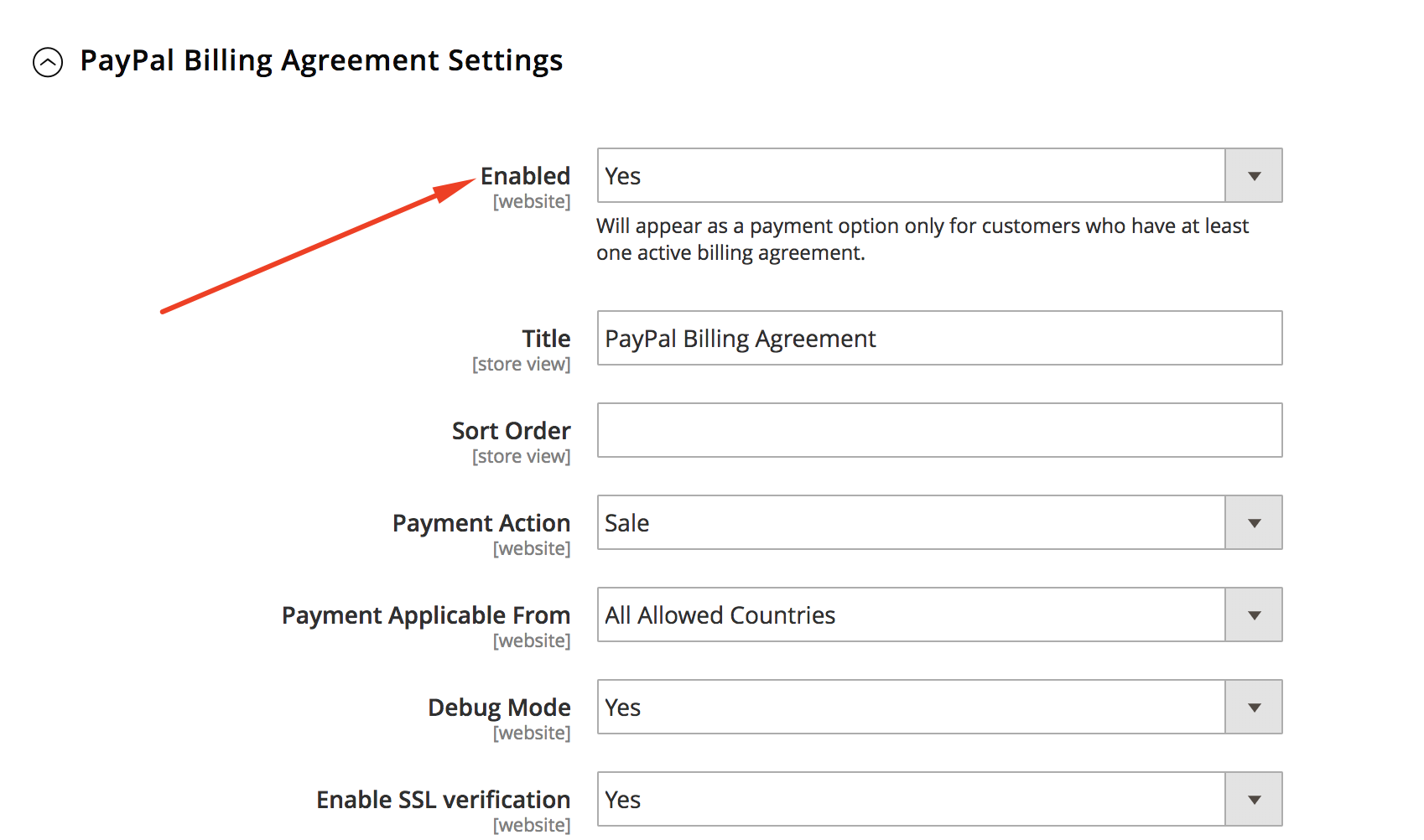 Paypal Not Showing In Checkout After Upgrading To Magento 218 Or